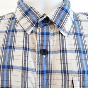 THE NORTH FACE Men's Short Sleeve Plaid Shirt Med
